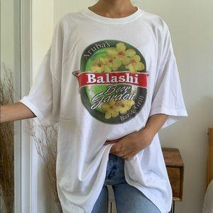 Aruba's Balashi Beer Garden White Hanes T-Shirt